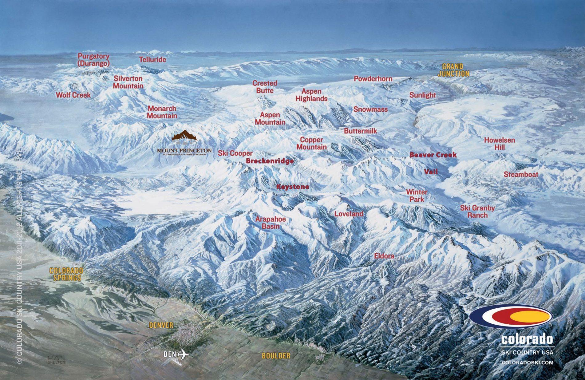 List Of Colorado Ski Resorts Near Hot Springs
